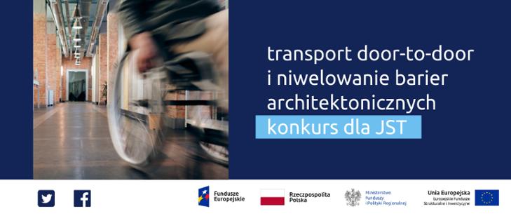 Konkurs na transport door-to-door i poprawę dostępności budynków. Ruszył konkurs grantowy PFRON !!!