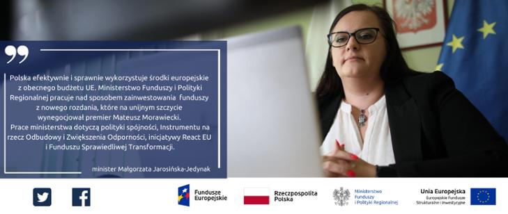 Zdjęcie - Minister Małgorzata Jarosińska Jedynak