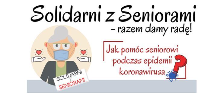 Logo - Solidarni z Seniorami - Razem Damy Radę