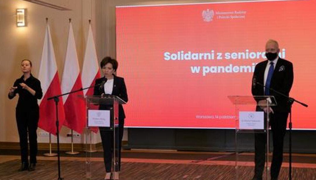 """""""Solidarni z seniorami"""" – o wsparciu dla osób starszych w czasie pandemii"""