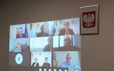 Posiedzenie Regionalnego Komitetu Rozwoju Ekonomii Społecznej Województwa Lubelskiego